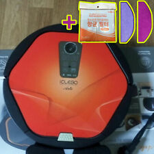 NEW iCLEBO ARTE YCR-M05-50 Intelligent Robot Vacuum Cleaner - Red +Catchmop