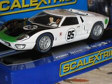 1:32 SLOT CAR FORD GT-40 SCALEXTRIC HORNBY C3231 DAYTONA1966 MARK DONOHUE NIB