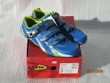 Road Bike cycling shoes NORTHWAVE Fighter SBS mens 45.5 blue NEW