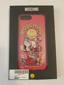 Cover Iphone 6/6S/7/8 Plus Moschino Smiley Originals