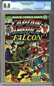 Captain America #174 CGC 8.0