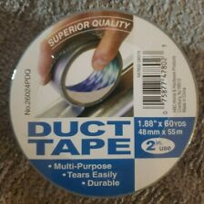 1 Duct Tape Superior Quality 2in Use 60yards Silver Multipurpose Durable