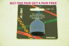 MARWI UNION ORGANIC DISC BRAKE PADS HOPE MONO TRAIL CALIPERS 1+1 FREE DBP-39