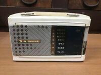 Y0941 Radio Nazionale Transistor Portatile Manico Giapponese Antico Vintage