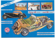MG TD Large Format MODERN postcard by Jenna