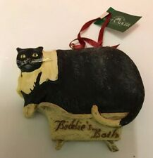 Biddies Bath Ornament 2005 By Ksa
