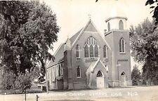 B18/ Lemars Iowa Ia Real Photo RPPC Postcard c1940s St James Catholic Church