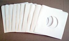 LOT OF TEN 45 RPM RECORD PAPER SLEEVES **** LOT DE 10 POCHETTES DE 45 TOURS