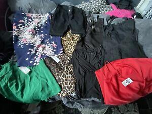 JOB LOT BUNDLE size 12 14 16 Ladies Clothes 16 Items Topshop River Island Oasis