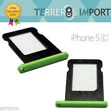 Bandeja Tarjeta Sim para iPhone 5C Color Verde