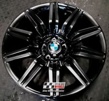 "R141FC YOURS4 Ours BMW 5 SERIES 4X 19"" GENUINE SPIDER FLASH CHROME ALLOY WHEELS"