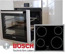 Backwagen BOSCH Herdset Autark Backofen Trolley + Glaskeramik Kochfeld 60cm NEU