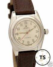 Vintage Rolex Bubbleback 2940 Automatic Stainless Steel 32mm Circa 1945 Watch