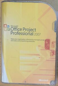 Microsoft Office Project Professional 2007 H30-01854