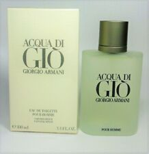 Acqua Di Gio By Giorgio Armani EDT for Men 3.4 oz - 100 ml *NEW IN SEALED BOX*