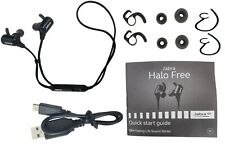 Jabra Halo Free Wireless Water Resistant Stereo Headset Ear-Hook Earbuds OTE29