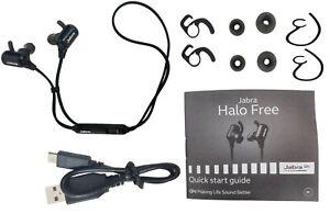 Jabra Halo Free Wireless Water Resistant Stereo Headset Ear-Hook Earbuds OTE29
