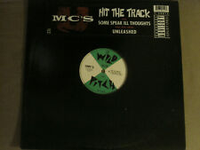 "UMC'S HIT THE TRACK 12"" ORIG '94 WILD PITCH Y-58015 HIP HOP RAP UNLEASHED VG+"