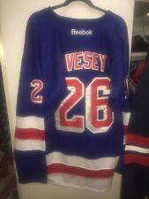 Jimmy Vesey Hockey New York Rangers Jersey Rangers NHL Sweater Road Jersey XXL