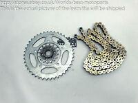Aprilia SL750 Shiver (1) 16' Chain Front and Rear Sprockets