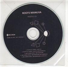 (GX535) Roots Manuva, Facety 2:11 - DJ CD