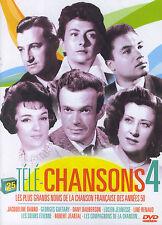 Télé-Chansons 4 : les grands noms de la chanson française des années 50 (DVD)