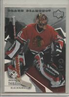 2002-03 UPPER DECK BLACK DIAMOND JOCELYN THIBAULT DOUBLE BLACK DIAMOND