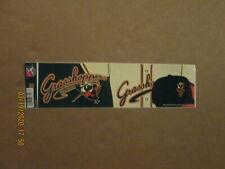 SAL Greensboro Grasshoppers Vintage 2012 Team Logo Baseball Bumper Sticker