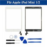 Noir Blanc Pour iPad Mini 1 2 Touch Screen Écran Digitizer IC Chip Home Button F