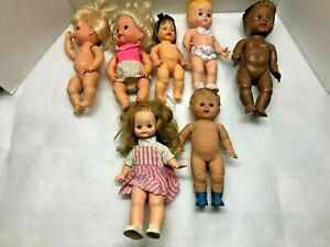 OLD BABY DOLL LOT