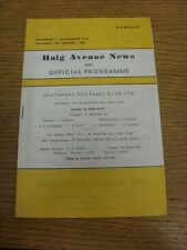 13/01/1968 Southport v Scunthorpe United  . Thanks for viewing this item, we try