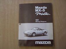Wiring diagram schemi MAZDA mx5 mx-5 MIATA nell'anno modello 1991