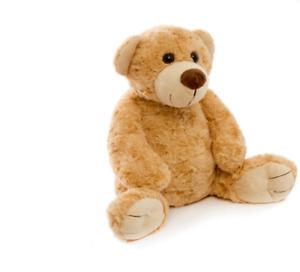 ROSETTE l Mid Brown Teddy Bear Soft Cuddly I 32cm I Birthday Present I Nursery
