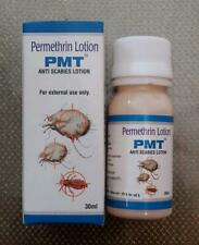 PMT Permethrine 5% Lotion for Scabies Pubic Lice 4 X 30ml