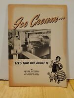 Ice Cream - Let's Find Out About It: National Dairy Council booklet 1950