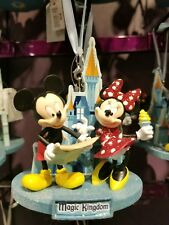 Disney Parks Mickey Mouse Minnie Mouse Magic Kingdom Christmas Ornament 2018