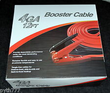 Booster Cable Jumpstart Cable 4GA 12 Feet