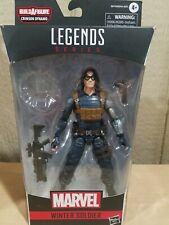 Marvel Legends Series Winter Soldier NO*/Crimson Dynamo BAF* 6 Inch New