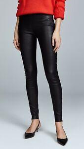 Mackage Navi Black Leather Pants Size 2