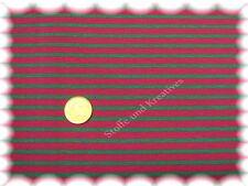 Campan Cotone Jersey Hilco fuxia verde 50 cm Hilco strisce Jersey Tessuto CUCIRE