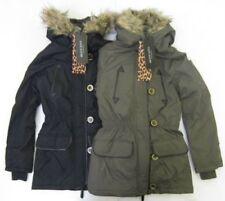 Inverno giacca a vento/parka in poliestere per bambine dai 2 ai 16 anni