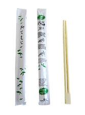 "9"" Disposable Chinese / Japanese Bamboo Party Chopsticks Kari Out - 70 pairs"