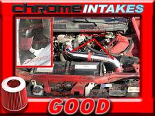 RED 1993 1994 1995 CHEVY CAMARO/PONTIAC FIREBIRD 3.4L V6 FULL COLD AIR INTAKE