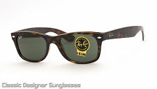 RAY-BAN NEW WAYFARER SUNGLASSES RB2132 902 Tortoise Frame 52mm BRAND NEW IN BOX