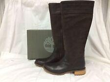 Timberland Womens Bethel Tall Medium Shaft Winter Boots, Dk Brown/suede, 6M