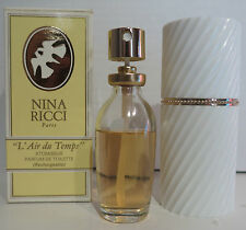 NINA RICCI L'air du Temps 30ml PDT PARFUM DE TOILETTE RECHARGEABLE NEUF VINTAGE
