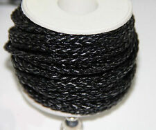 3M Man-made Leather Braid Rope Cord Jewelry Bracelet Making String 3mm