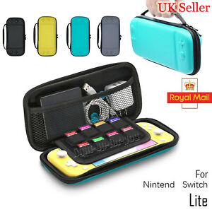 Carry Bag For Nintendo Switch Lite Hard Case Game Device Protective Pouch Cover,