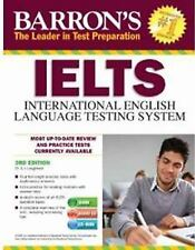 Barron's IELTS with Audio CDs, 3rd Edition-ExLibrary