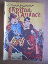 Le grandi Avventure del Capitan l' Audace Albo D'Oro n°170 1949 Originale [G501]